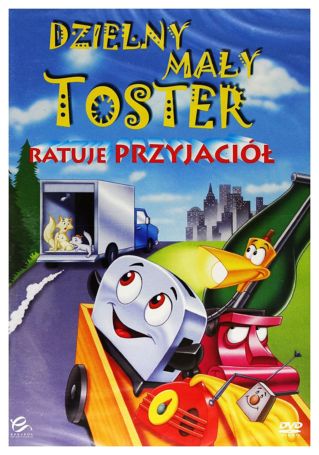 The Brave Little Toaster to the Rescue DVD Region 2 English audio