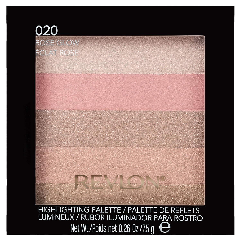 Revlon Glow Highlighting Palette, Rose 7.5 g 7210384002