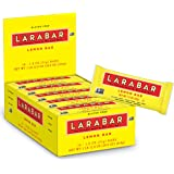 Larabar Gluten Free Bar, Lemon Bar, 1.8 oz Bars (16 Count)