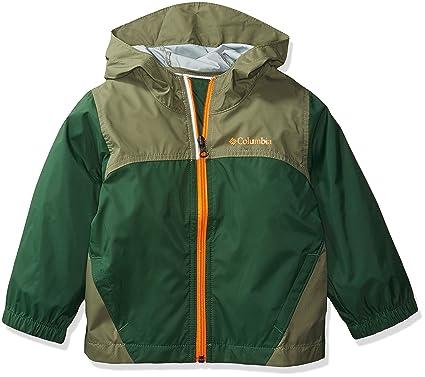 0cf8e8d73 Columbia Boys' Little Glennaker Rain Jacket, Forest/Cypress, XX-Small