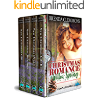 Christmas Romance in Willow Spring Complete Series (Box Set Sweet Clean Contemporary Romance Series Book 1)