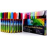 Buy Liquid Chalk Fluorescent Neon Markers 8 Colors Online