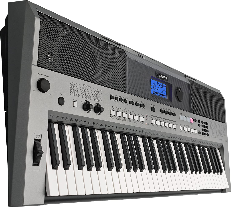 yamaha psre443 61 key portable keyboard musical