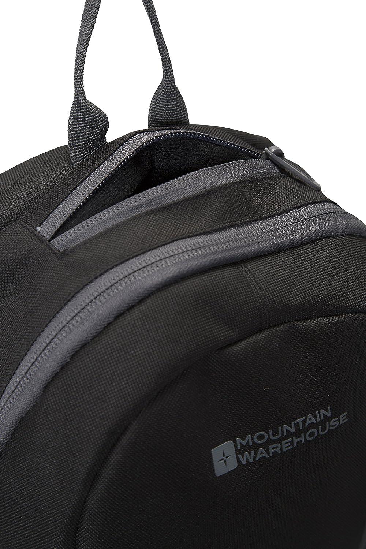 Mountain Warehouse Mochila Esprit 10 L - Mochila con correas de malla acolchadas para mujer, mochila con funda para tableta para hombre, bolsillo con ...