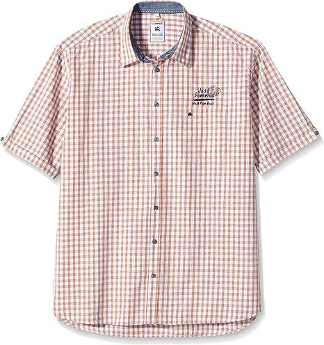 LERROS 26420451 Camisa, Orange (Tropical Orange 922), XXX-Large para Hombre: Amazon.es: Ropa y accesorios