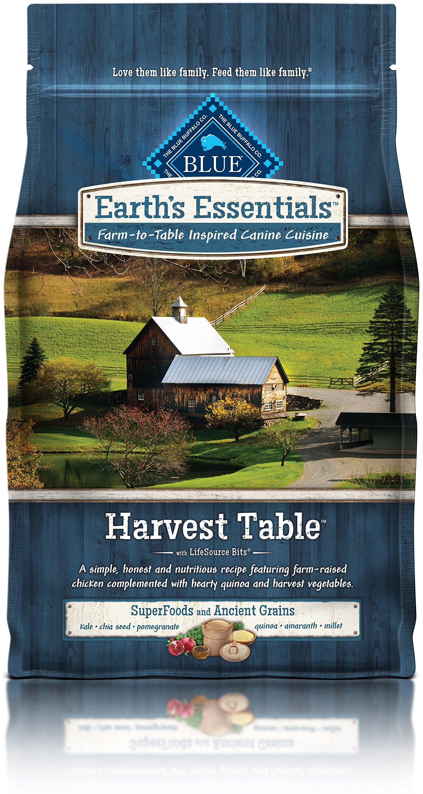 BLUE Earth's Essentials Harvest Table Chicken & Quinoa, 4 lb