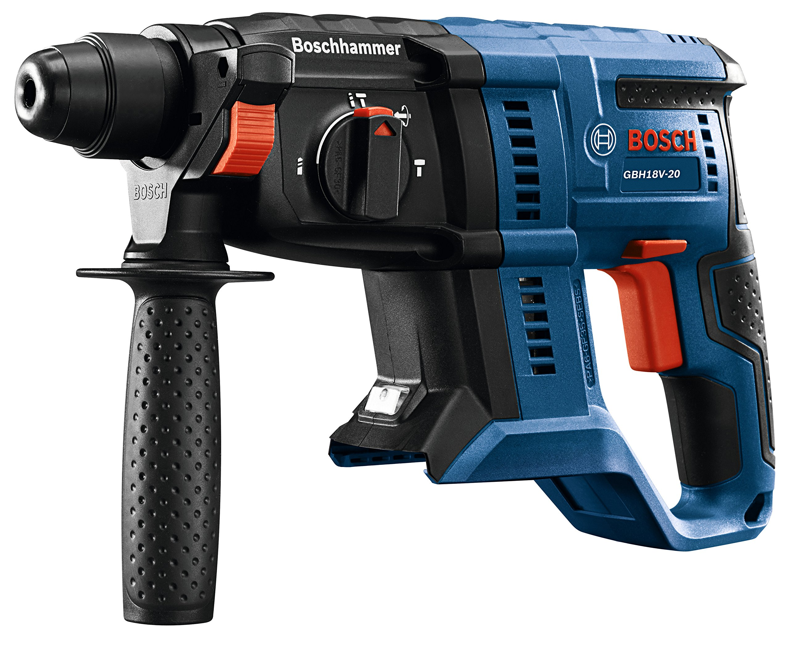 Bosch GBH18V-20N 18V 3/4 in. SDS-plus Rotary Hammer (Bare Tool) by Bosch (Image #6)