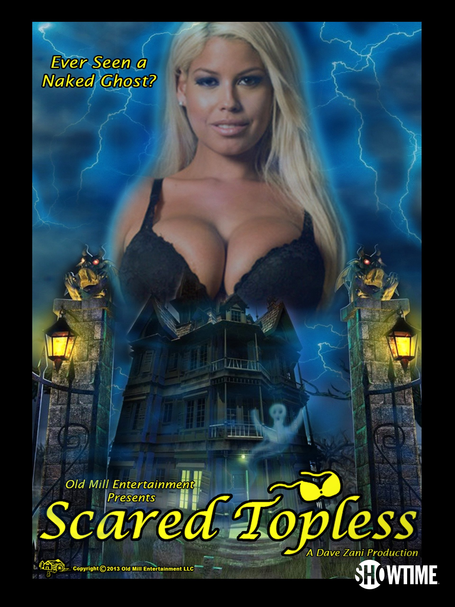 Scared Topless Actors