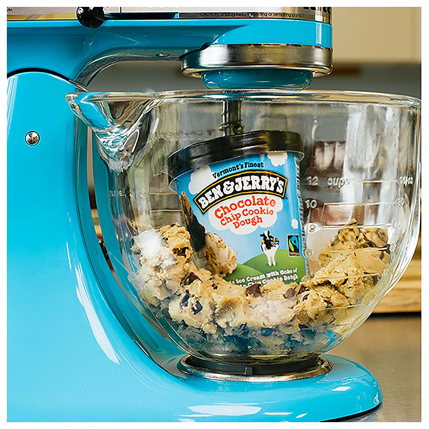 Ben & Jerry\'s Ice Cream, Chocolate Chip Cookie Dough, 16 oz: Amazon ...