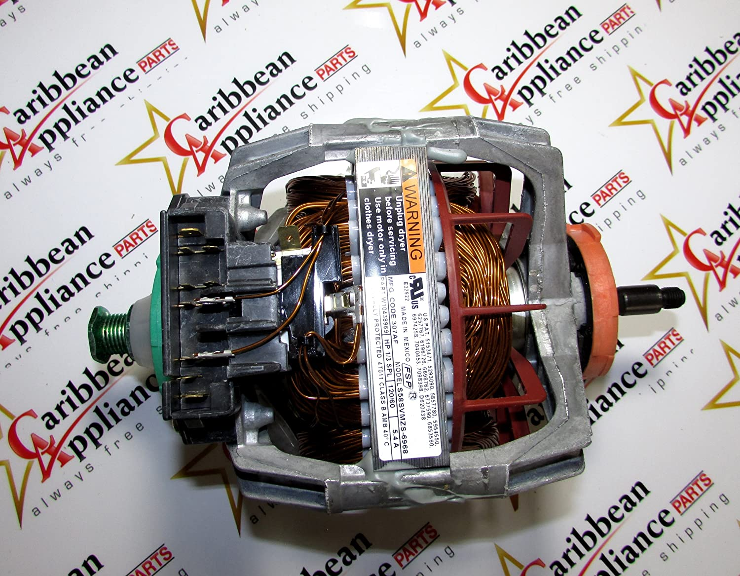 Amazon.com: Whirlpool Dryer Motor 279787 3395654 8538263: Home ...