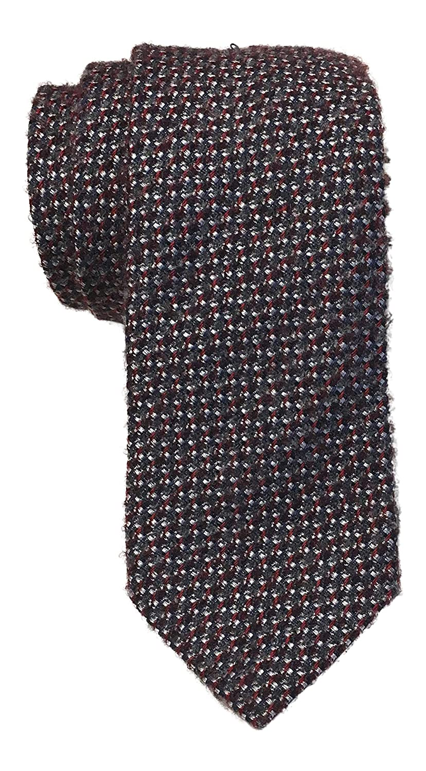 Canali Multicolored Wool Silk Blend Tie