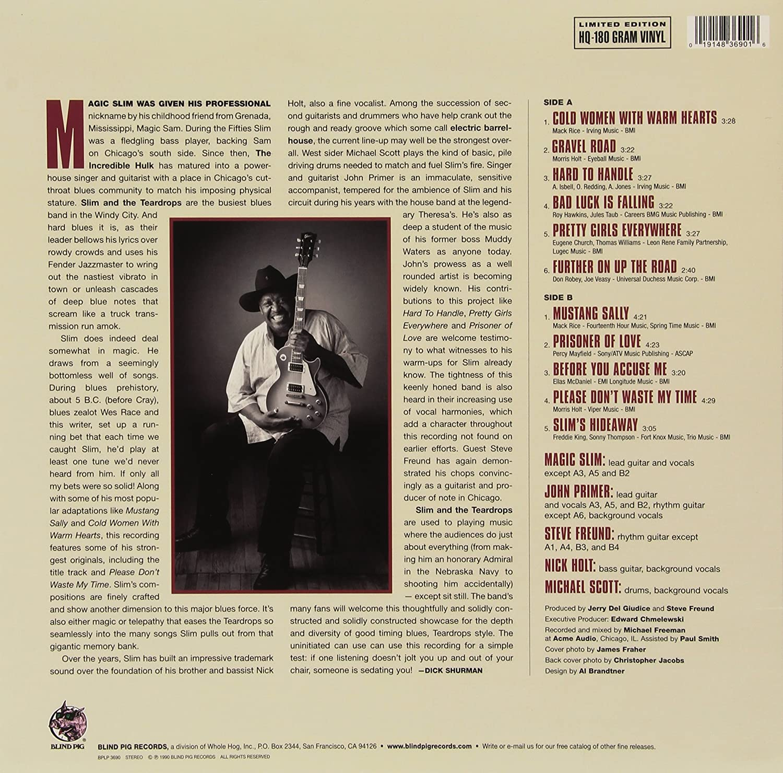 Magic Slim The Teardrops Gravel Road Reis Ogv Vinyl Amazon Com Music