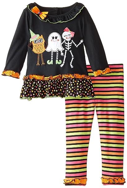 Amazon.com: Ediciones raras Little Girls Halloween Applique ...
