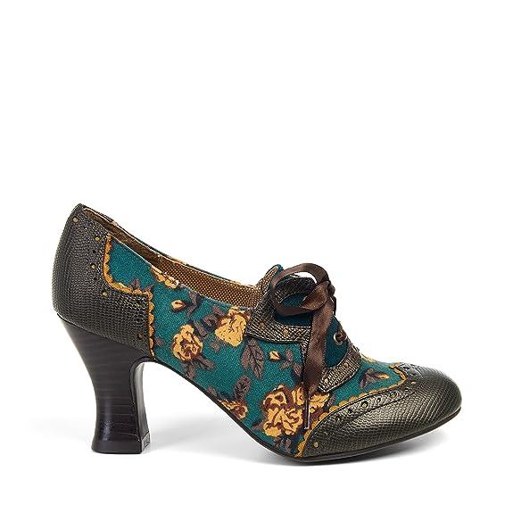 36 EU Ruby Shoo Daisy Olive Womens Heels Shoes-3  Negro (Schwarz 00) vV5JQH3GaU