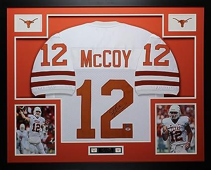 Amazon.com: Colt McCoy Autographed White Longhorns Jersey ...