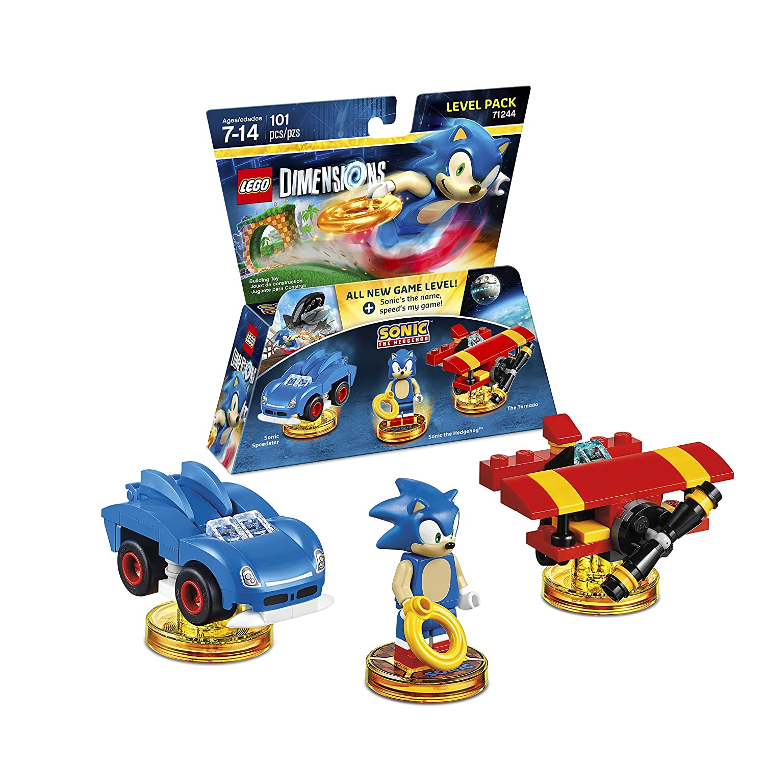 Amazon Com Sonic The Hedgehog Level Pack Lego Dimensions Video Games