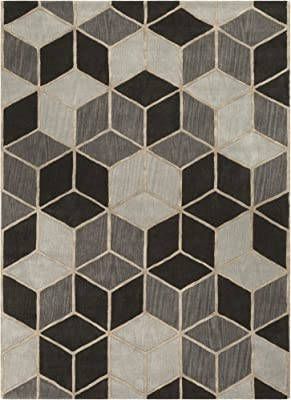 Surya Oasis 8' x 11' Area Rug, Light Gray