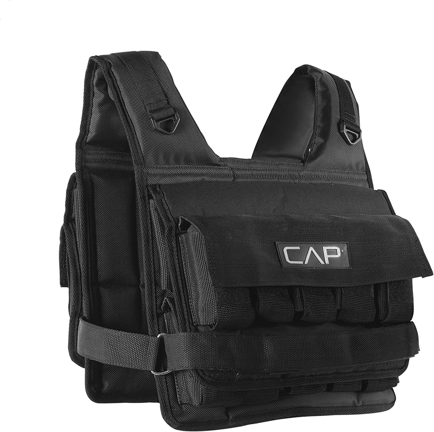 20-Pound Adjustable Weighted Vest CAP Barbell HHWV-CB020C