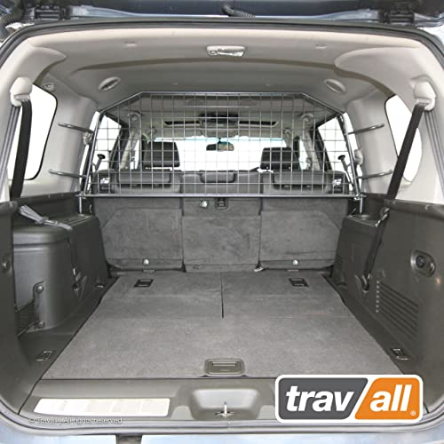 Travall Guard Compatible with Nissan Pathfinder 2004-2012 TDG1138 – Rattle-Free Steel Vehicle Specific Pet Barrier