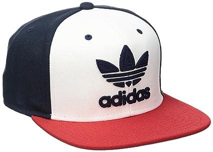 adidas Men s Originals Trefoil Chain Snapback Cap aa02ae63eff