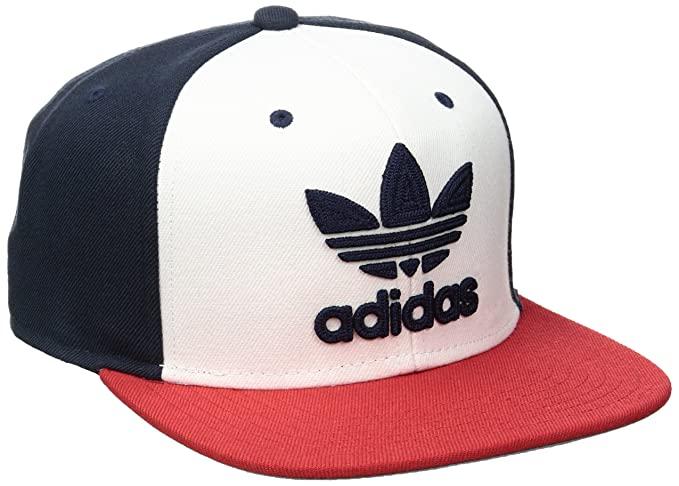 ab490d155cd adidas Men s Originals Trefoil Chain Snapback Cap