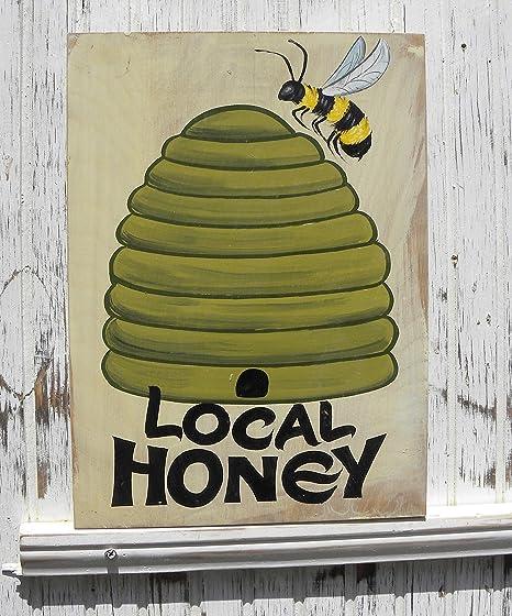 Ja242oe Cartel de Miel Local para la Venta, Esta es una ...