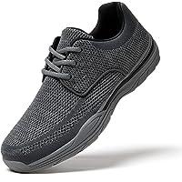 Zapatos de Cordones Hombre Vestir Casual Zapatillas Deportivas Running Sneakers Corriendo Transpirable