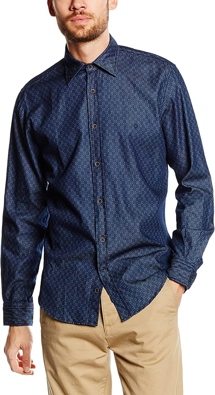 Caramelo Sport, Camisa Para Hombre, Azul (Blue), Small: Amazon.es: Ropa y accesorios