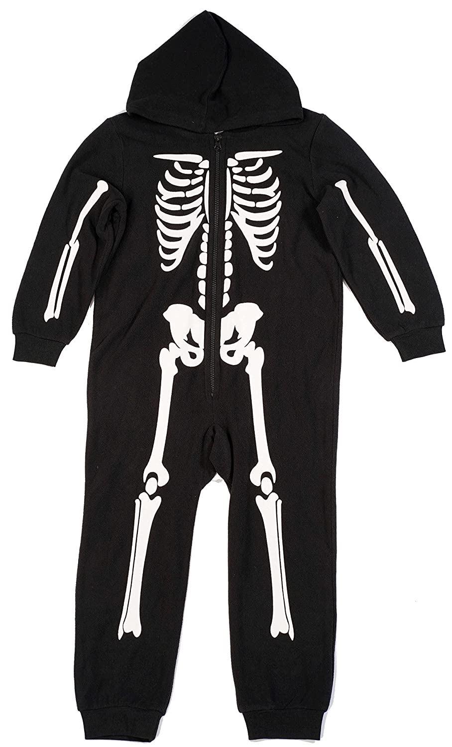 #followme Boys Skeleton Jumpsuit One Piece Pajamas