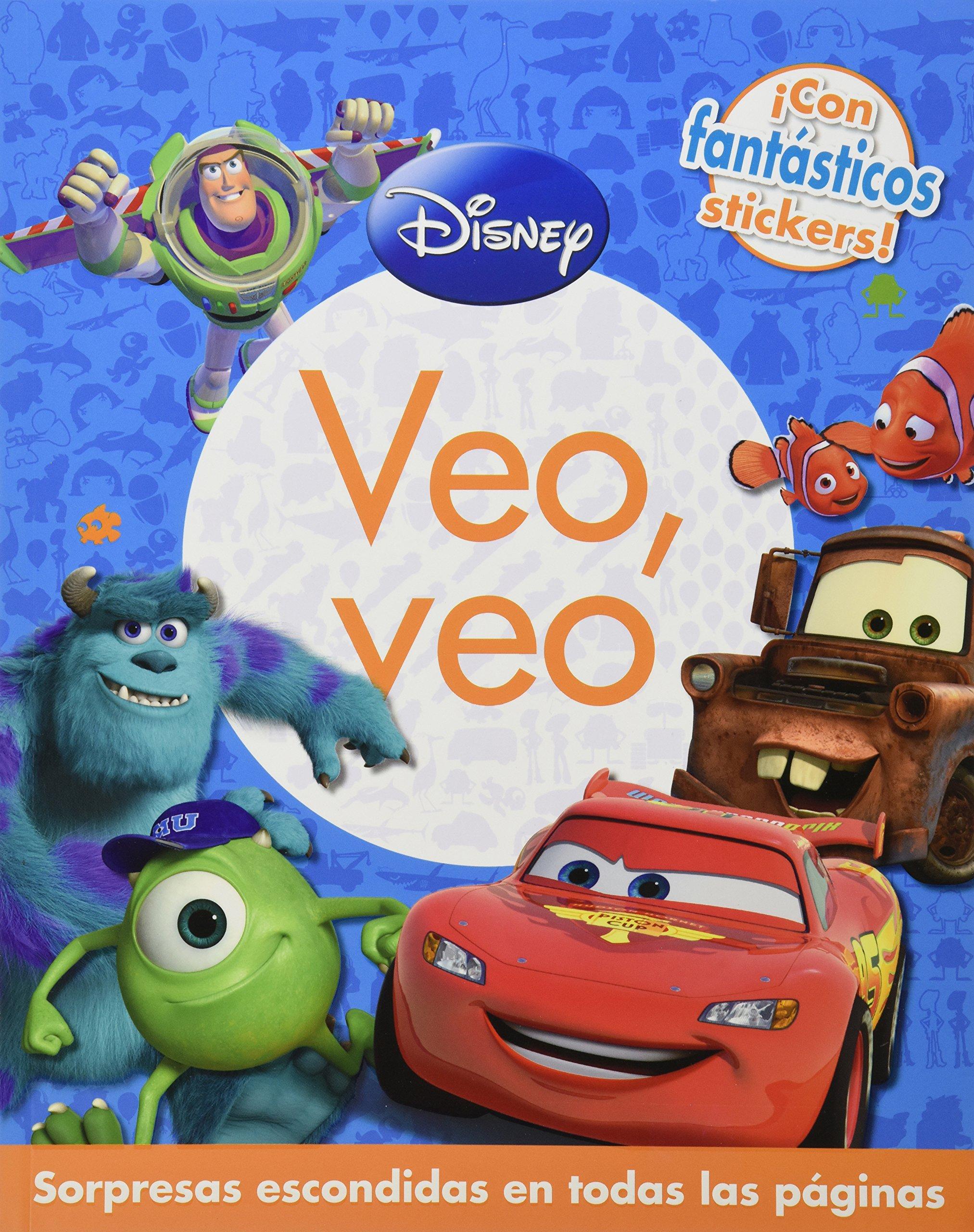 VEO VEO: DISNEY PIXAR (Spanish) Paperback – 2013