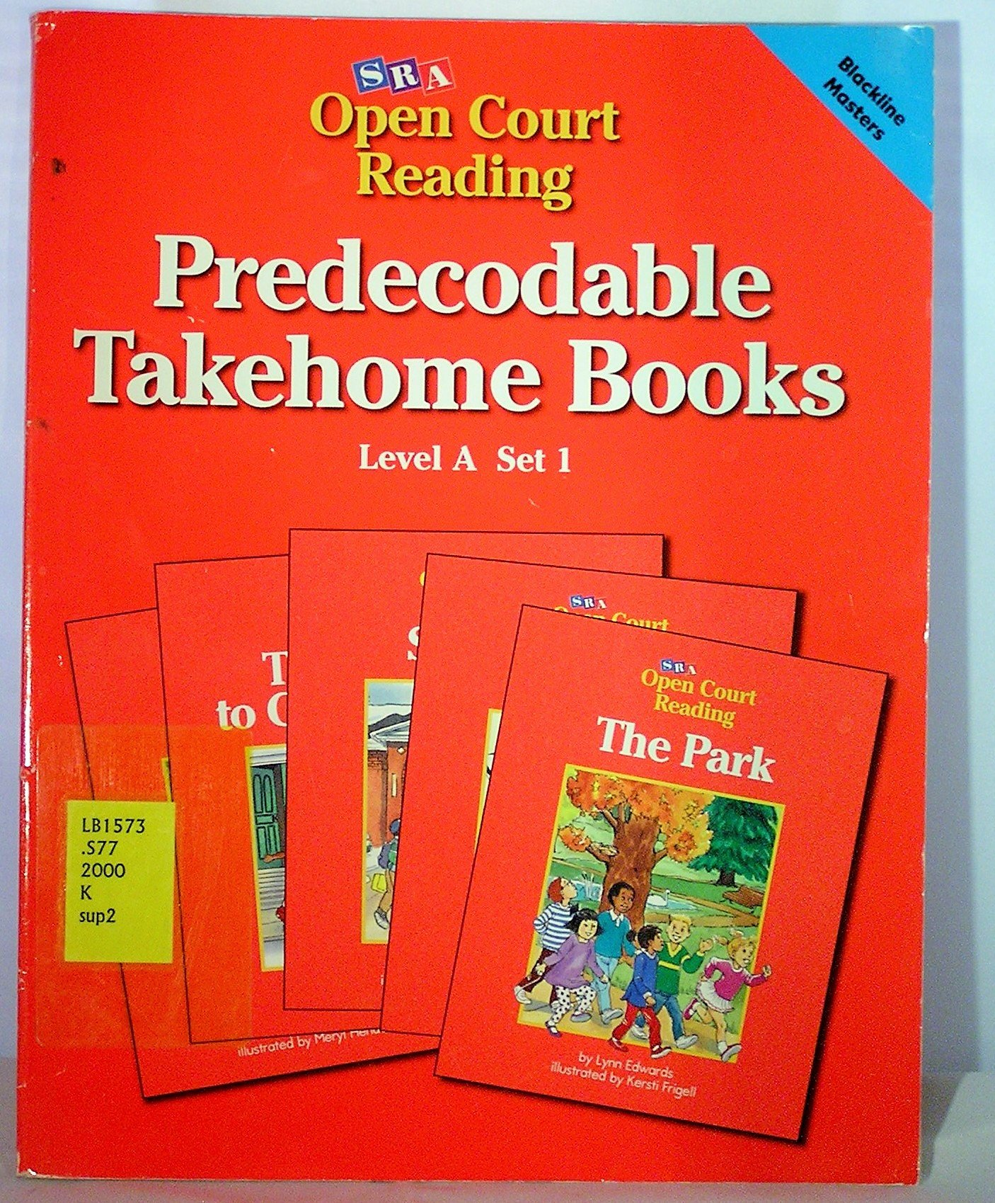 Open Court Reading Pre-Decodable Takehome Books Level A Set 1
