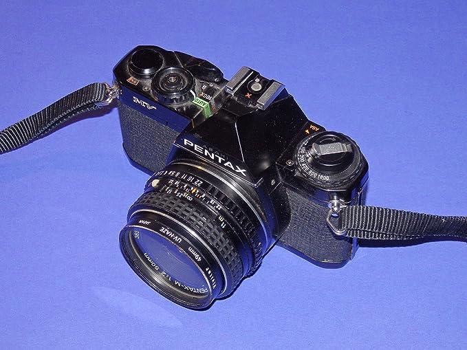Pentax MV SLR Camera – Cámara réflex analógica – Incluye Objetivo ...