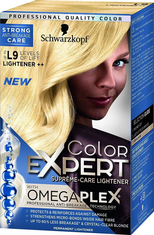 Schwarzkopf Hair Color Expert Omegaplex Dye Lightener L9 Plus