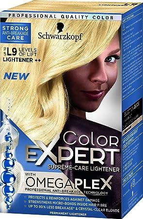 fe4aa3aa44 Schwarzkopf Color Expert Permanent Hair Dye, 10.2 Light Cool Blonde, 1  application
