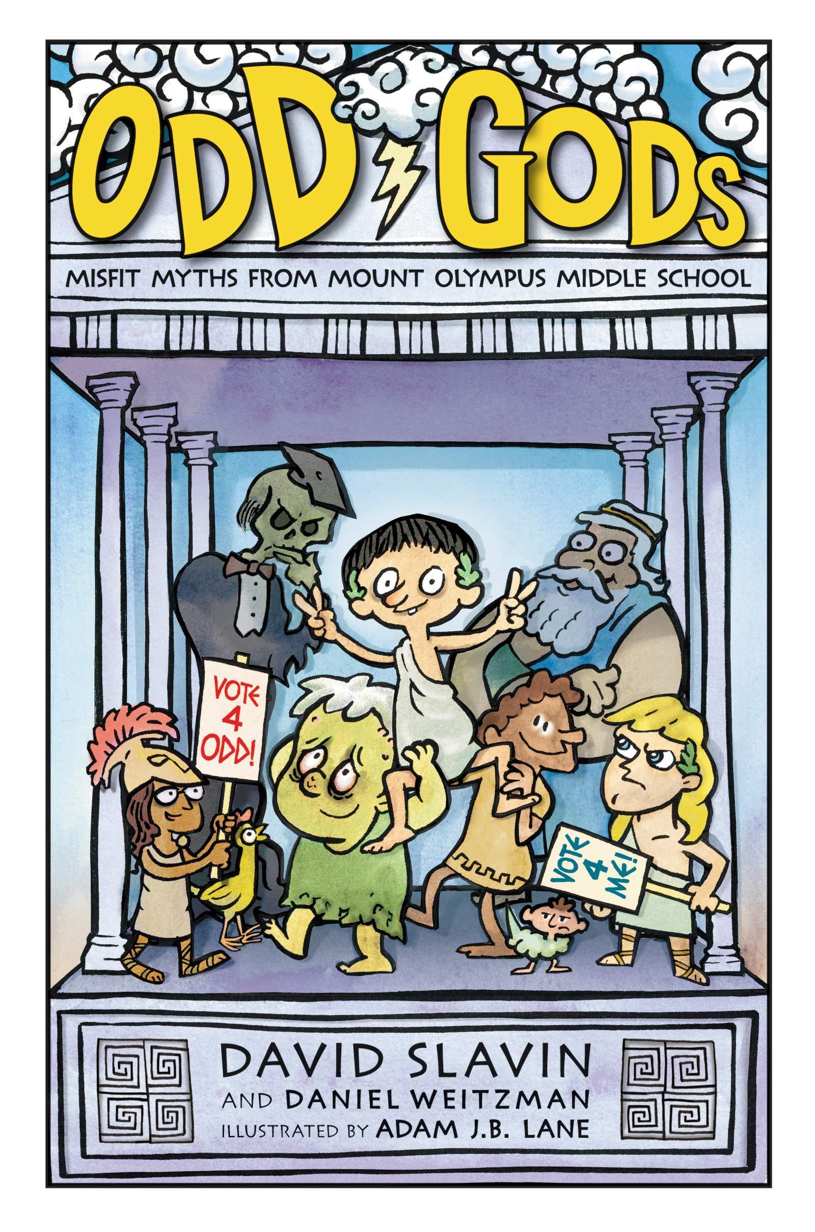 Odd Gods (Odd Gods, 1): Slavin, David, Weitzman, Daniel, Lane, Adam J.B.:  9780062839534: Amazon.com: Books