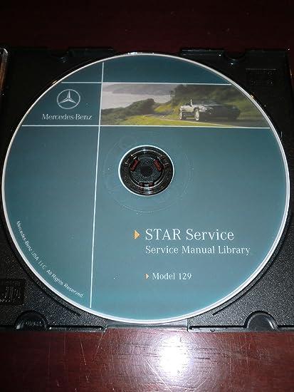 Cool Amazon Com 1998 Mercedes Benz Sl500 Sl600 Sl 500 Sl 600 R129 Wiring Digital Resources Honesemecshebarightsorg