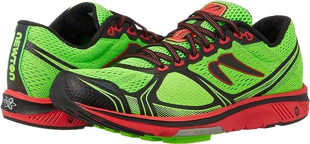 newtonrunning Motion 7, Zapatillas de Running para Hombre, Verde (Lime/Red 001), 39 EU: Amazon.es: Zapatos y complementos