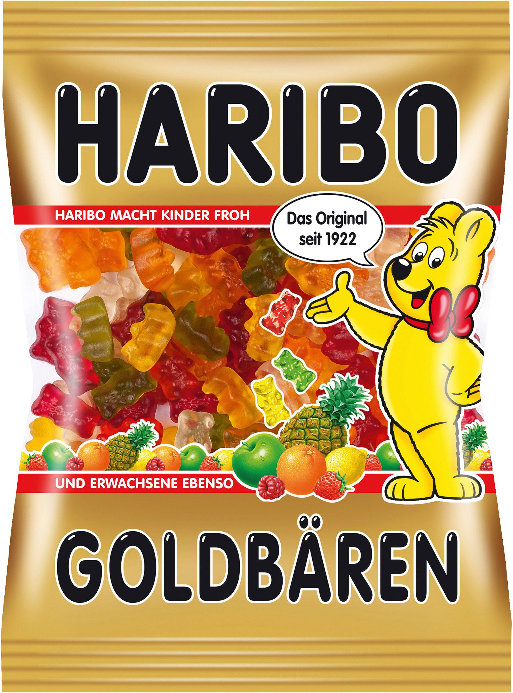 Haribo Goldbaren ( Gold Bears ) - Pack of 6 X 200 G by Haribo