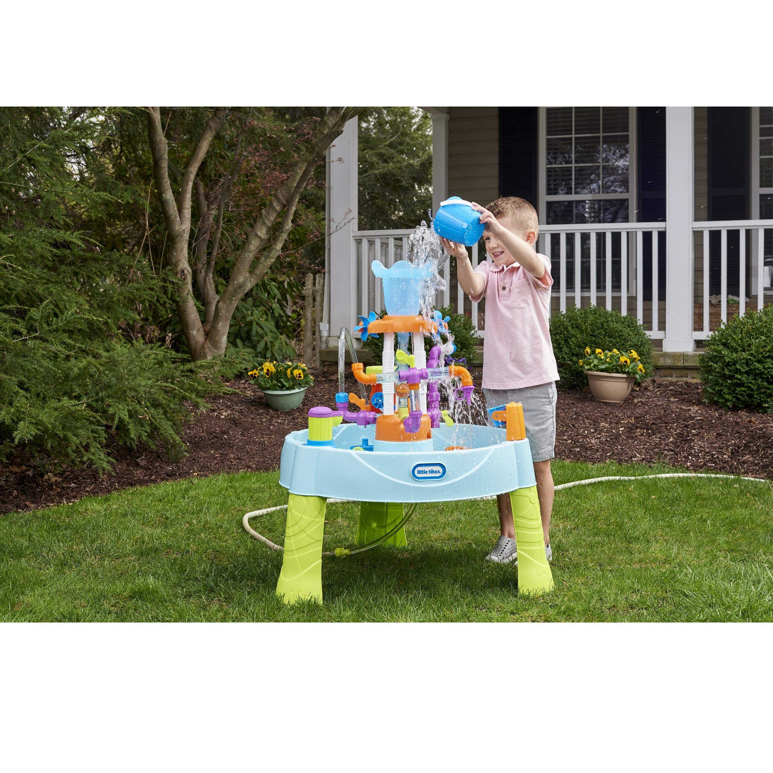 Little Tikes Flowin' Fun Water Table with 13 Interchangeable Pipes (Renewed) by Little Tikes (Image #3)