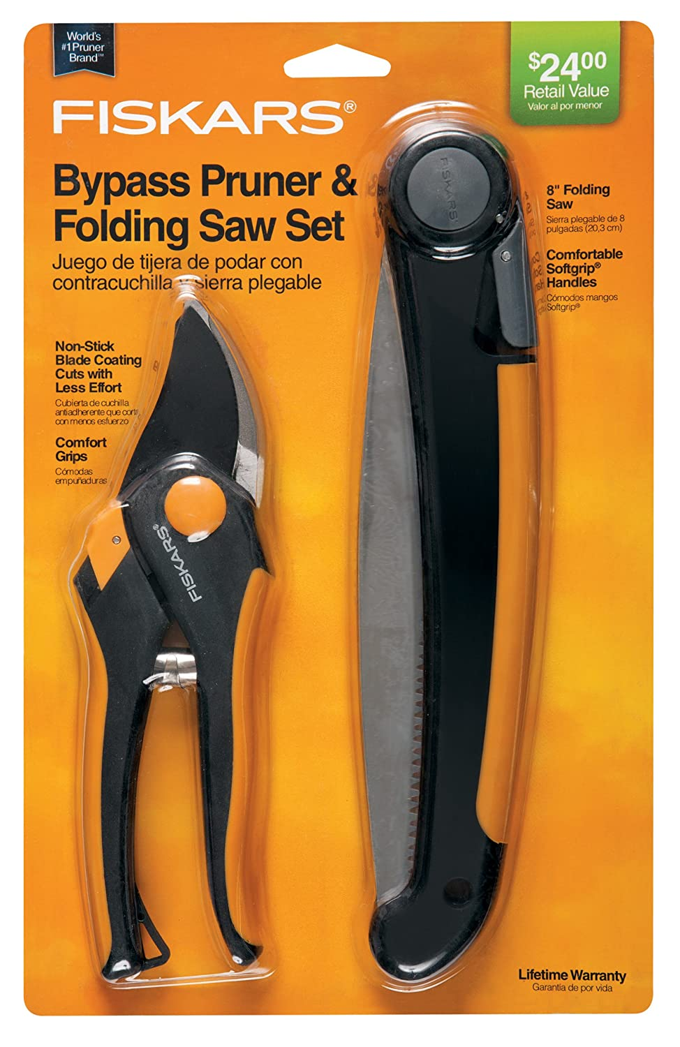 Fiskars 9564 Folding Saw and Pruner Set (Discontinued by Manufacturer)