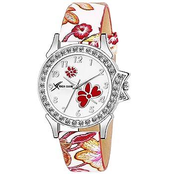 Rich Club RC-5018 Stylish Crystal Studded Watch