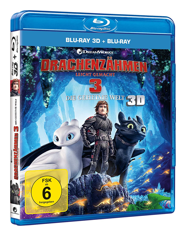 drachenzähmen 3 dvd