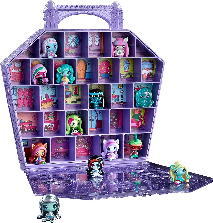 Amazon.com: Estuche para coleccionista de miniaturas de Monster High : Toys  & Games