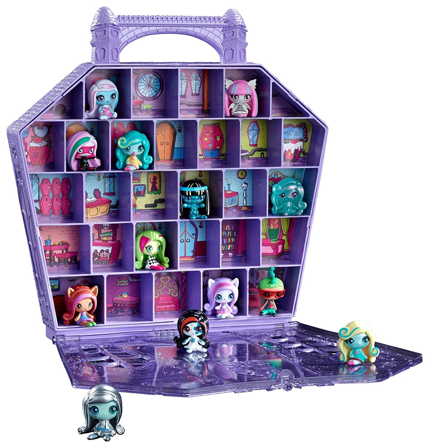 Amazon Monster High Minis Collectors Case Toys Games