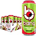 Bang Candy Apple Crisp Energy Drink, 0 Calories, Sugar Free with Super Creatine, 16 Fl Oz (Pack of 12)