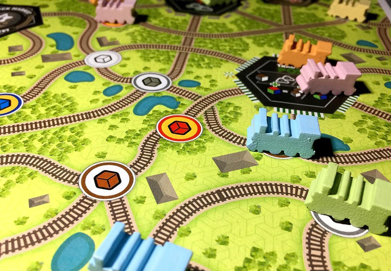 Whistle Stop Board Game: Amazon.es: Juguetes y juegos