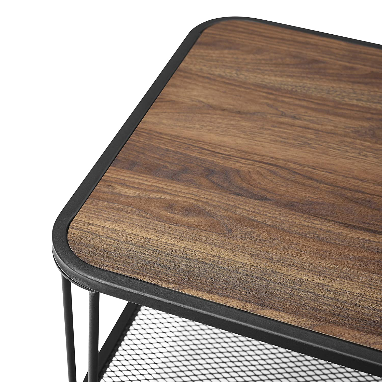 We Furniture Azf42loctdw Coffee Table Dark Walnut Furniture Coffee Tables