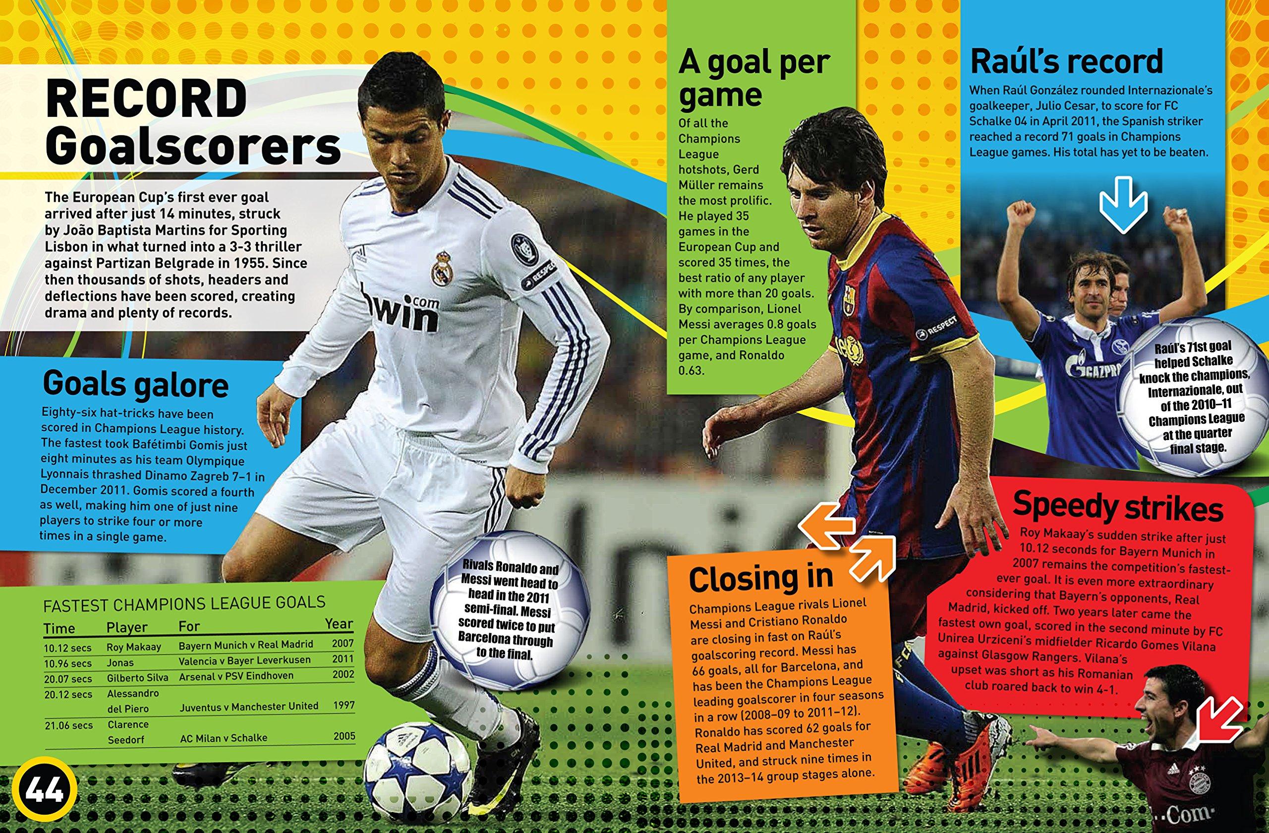 Champions League Fact File: Clive Gifford: 0001783121319: Amazon.com: Books