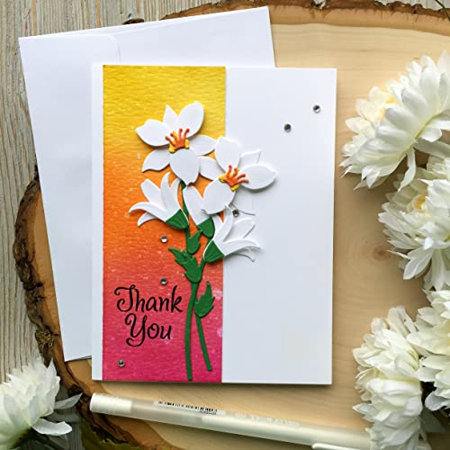 Amazon Com Handmade Thank You Card Thank You Card Thank You