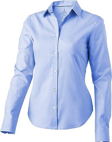 Elevate - Camisa Vaillant de Manga Larga para señora: Amazon ...